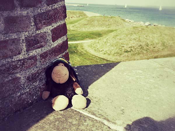 Luis auf der dänischen Seite des Øresunds