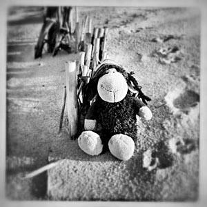 Beachblogger Luis am Strand von Sylt