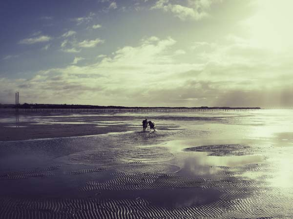 Romantik am Meer!