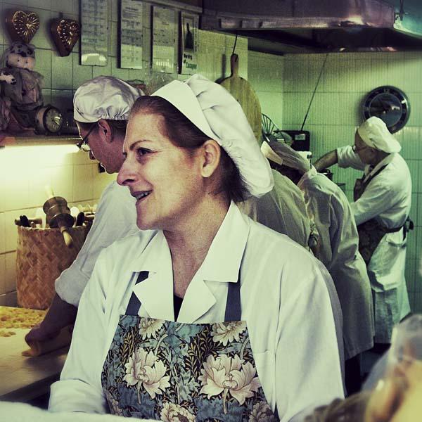 Daniela Zappoli liebt Tortellini.