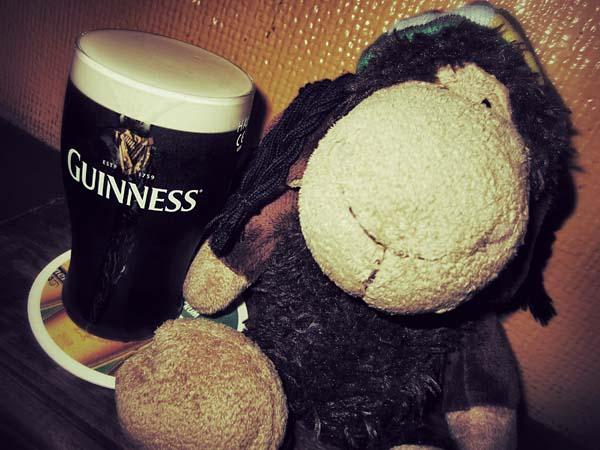 Guinness im Glas? Eine Lachnummer!