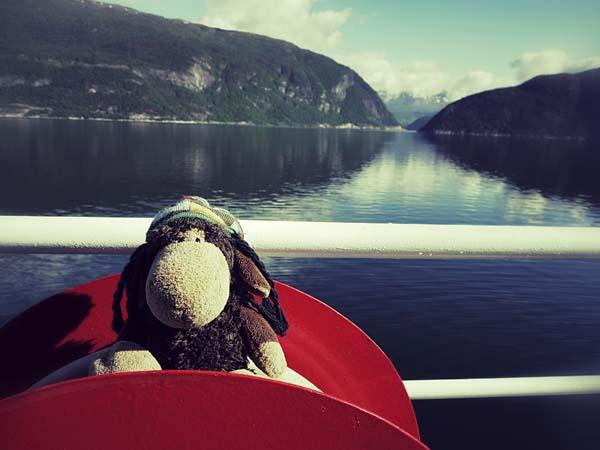 Glücklicherweise blieb Zeit, auf Fähren zu chillen.