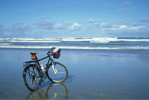 Neuseeland mit dem Fahrrad: der Ninety Mile Beach ©Ilona Schäkel