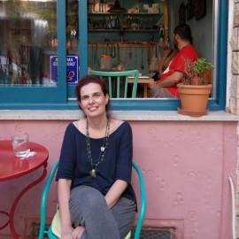 Café-Besitzerin Anthi