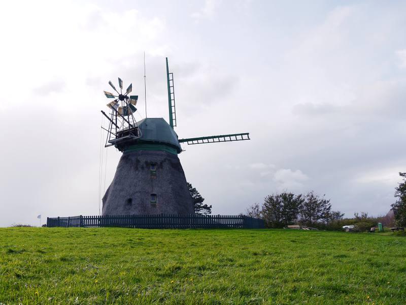 Die Erdholländermühle
