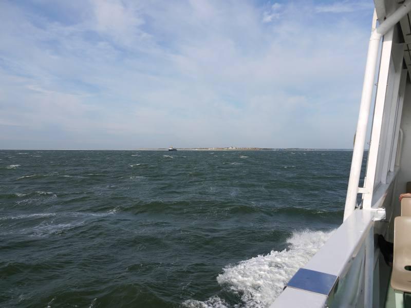 Mit dem Schiff nach Amrum
