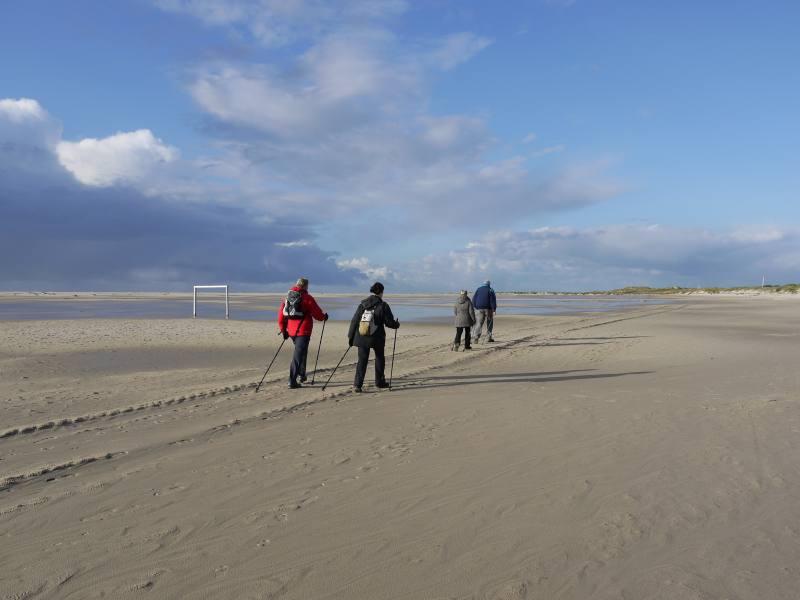 Nordic Walking auf Amrum