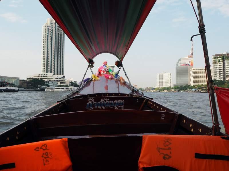 Longtailboat, Bangkok
