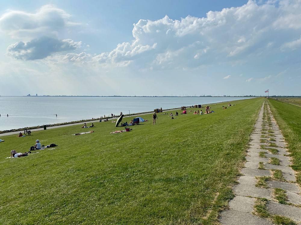 Badestelle Nordermeldorf, Speicherkoog