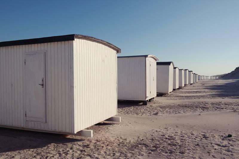 Begehrte Strandhäuser