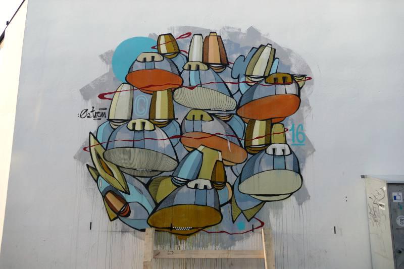 Beauglyful: Streetart von Atle Østrem