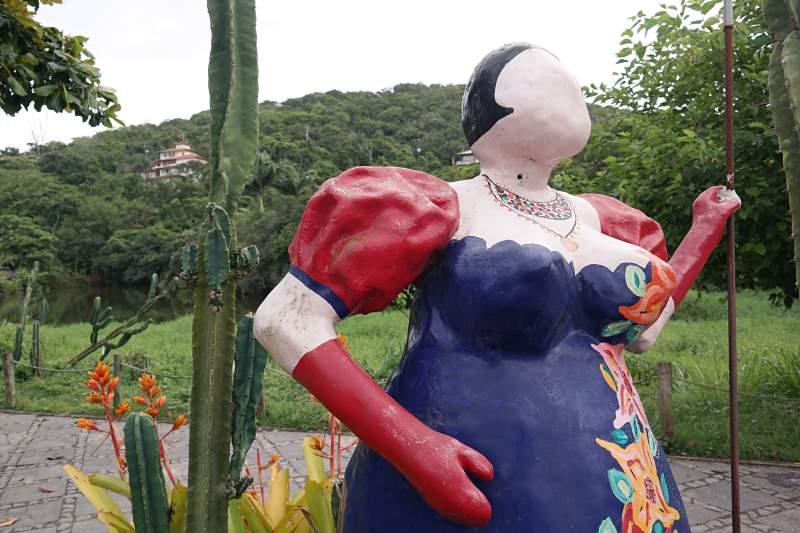 Frau ohne Gesicht
