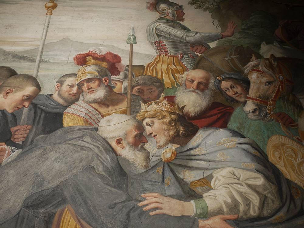 Wandfresken Santa Maria, Grottaferrata