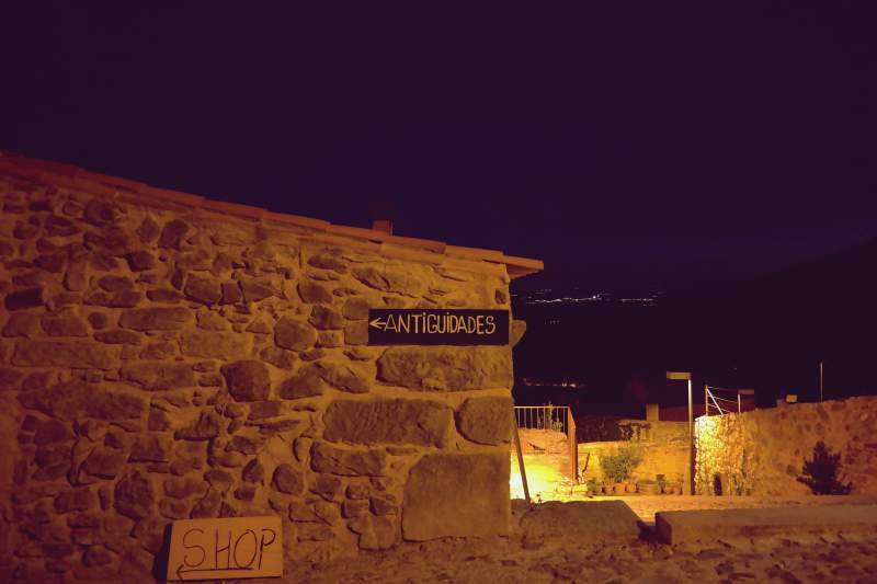 Nachts in Castelo Rodrigo