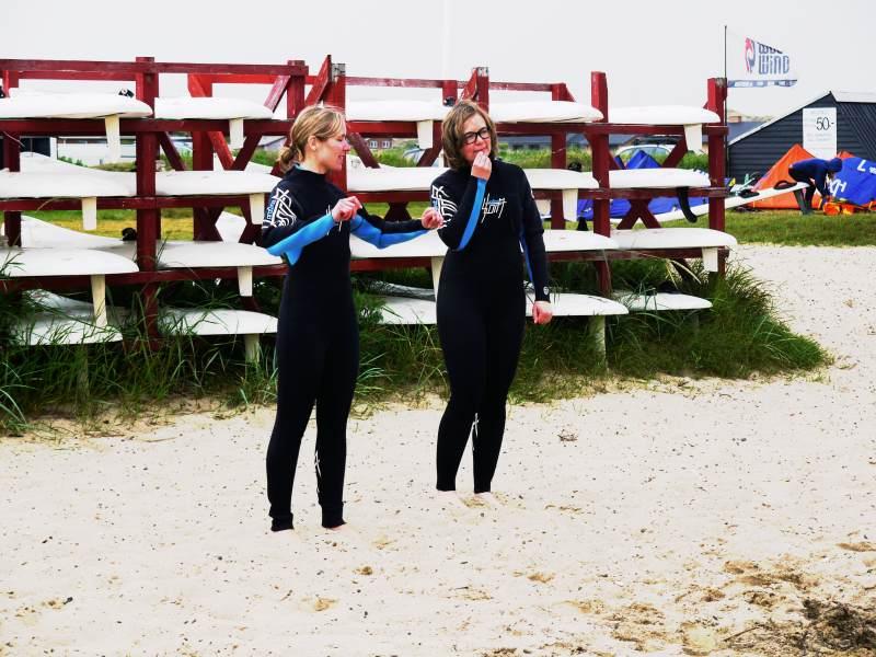 Ratlosigkeit unter Surfer Girls