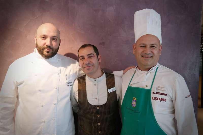 Damiano, Vincenzo und Giorgio
