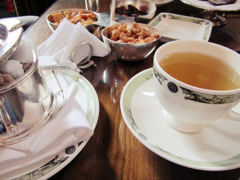 Tee mit dem City Greeter