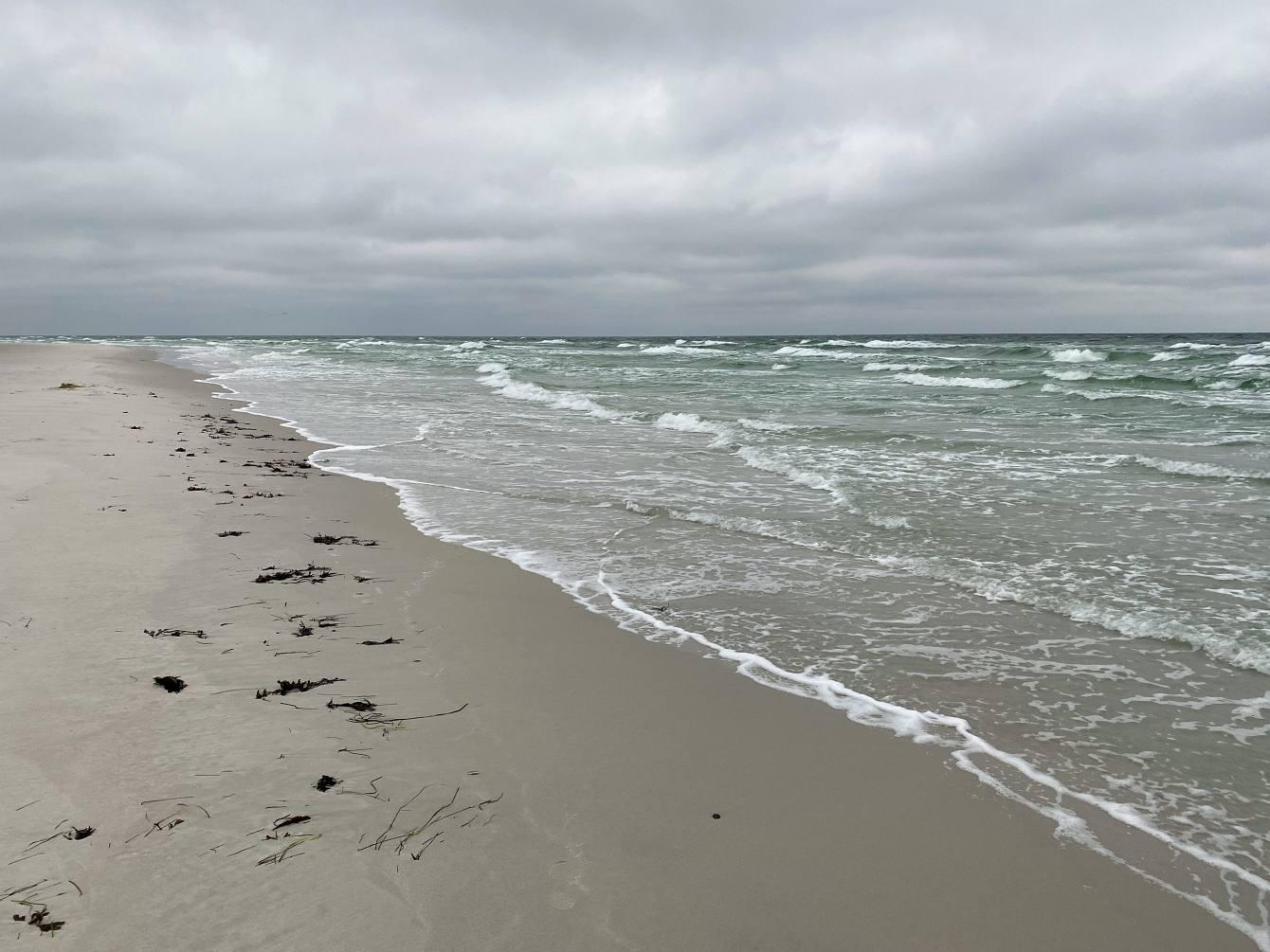 Dueodde Strand und Winterbaden