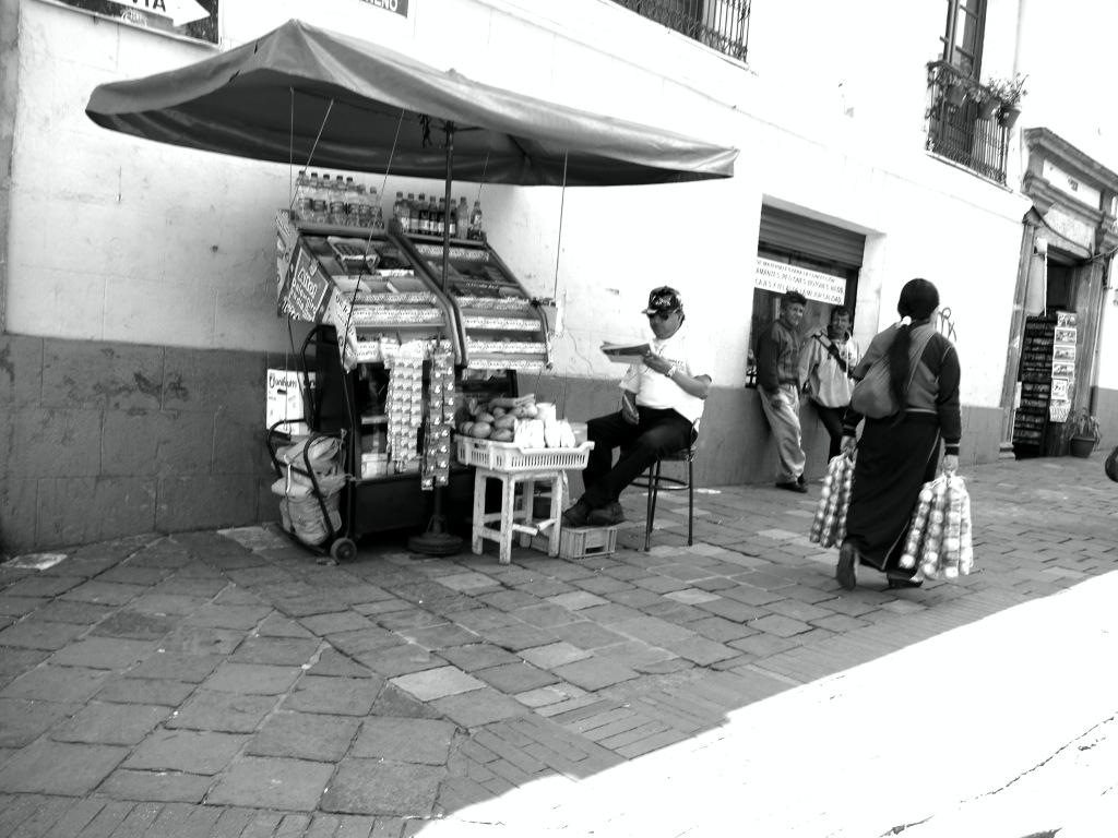Obstverkäuferin in Quito