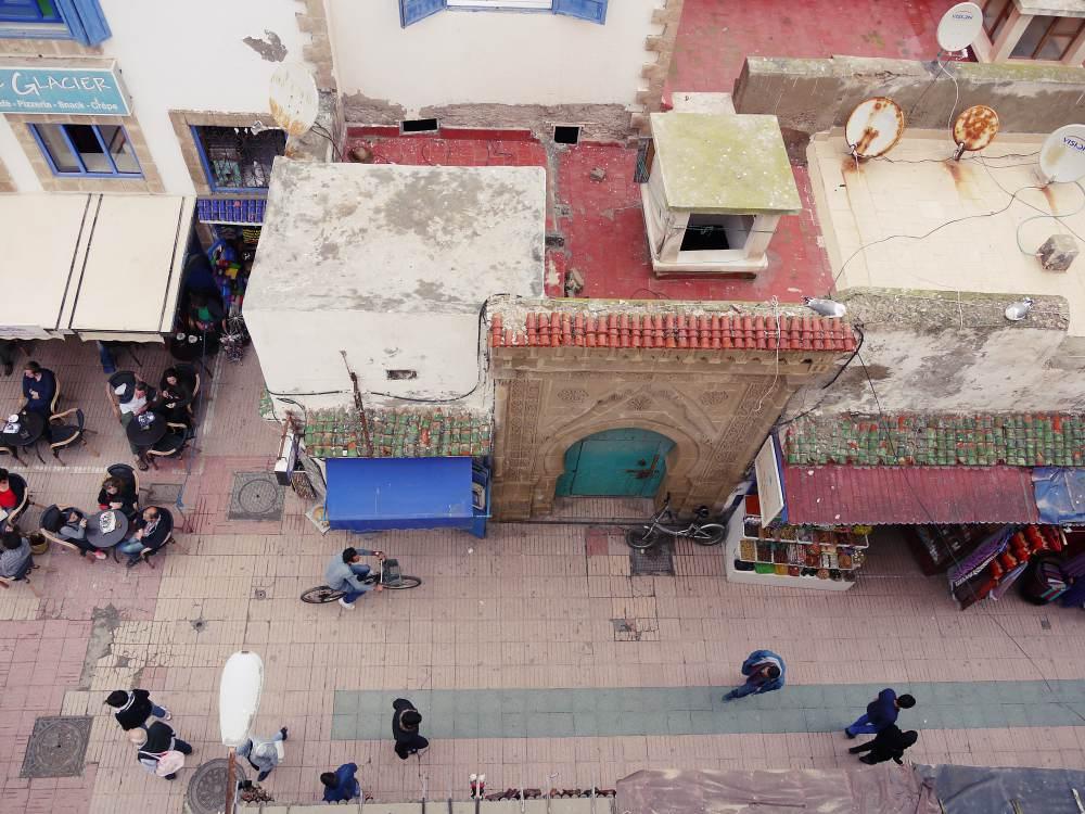 Essaouira von oben