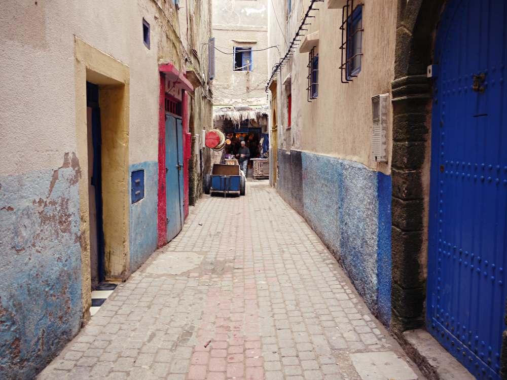 Gasse in Essaouria