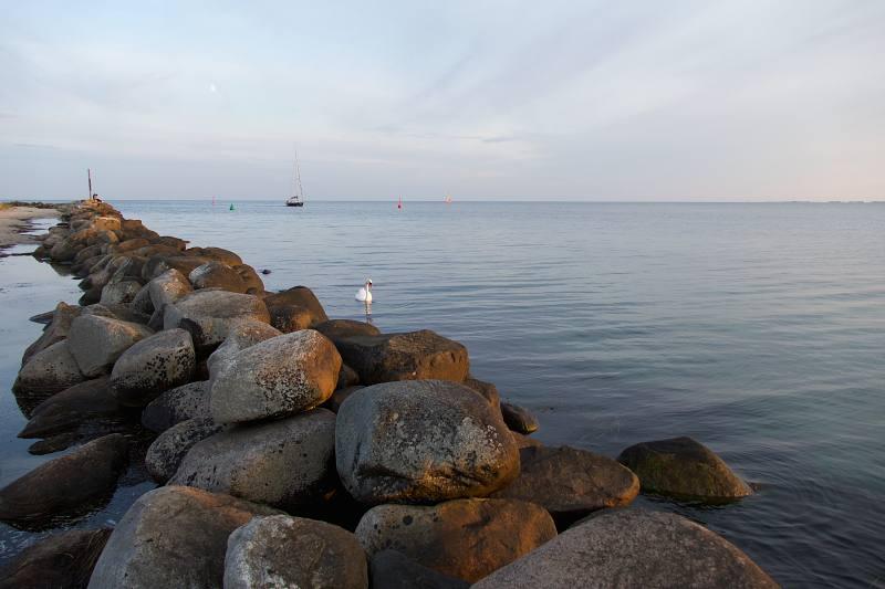 Am Strand von Fehmarn