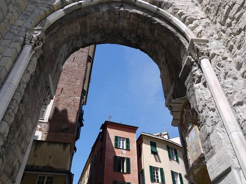 Altes Viertel von Genua