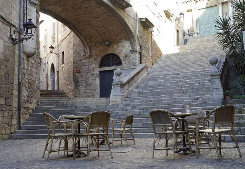 Die Treppe (Game of Thrones) in Girona