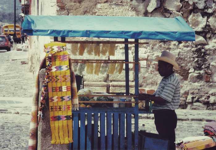 Die Stoffe von Chichicastenango