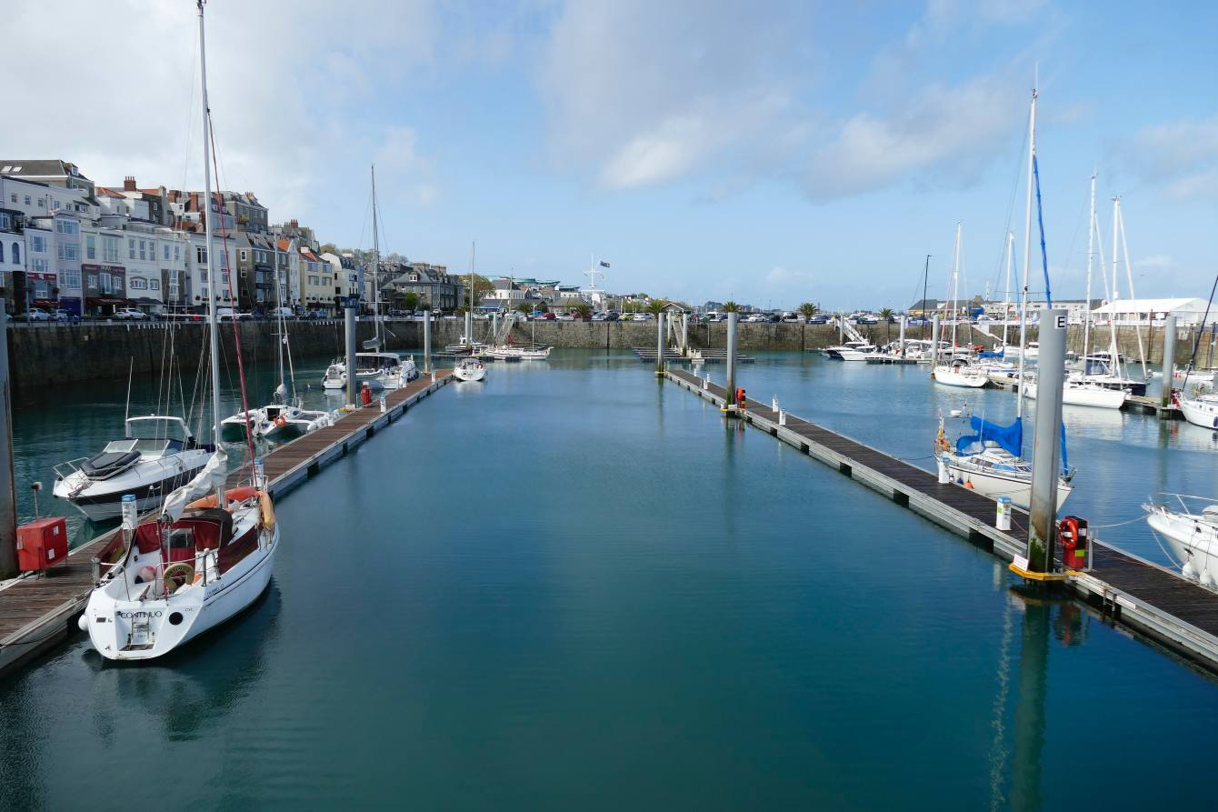 Hafen Saint Peter Port