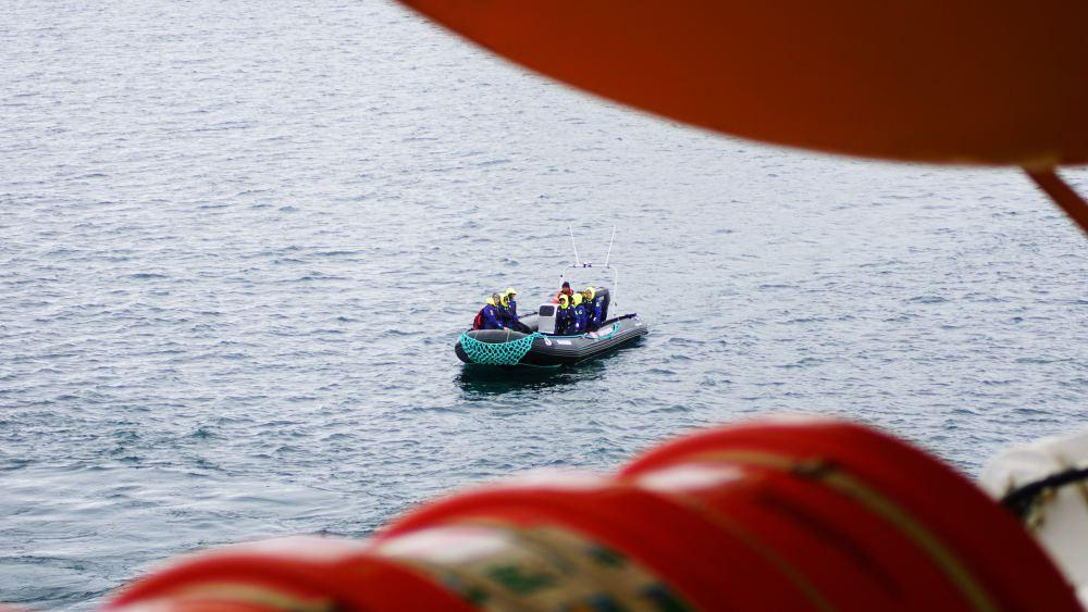 Ab in die Tenderboote!