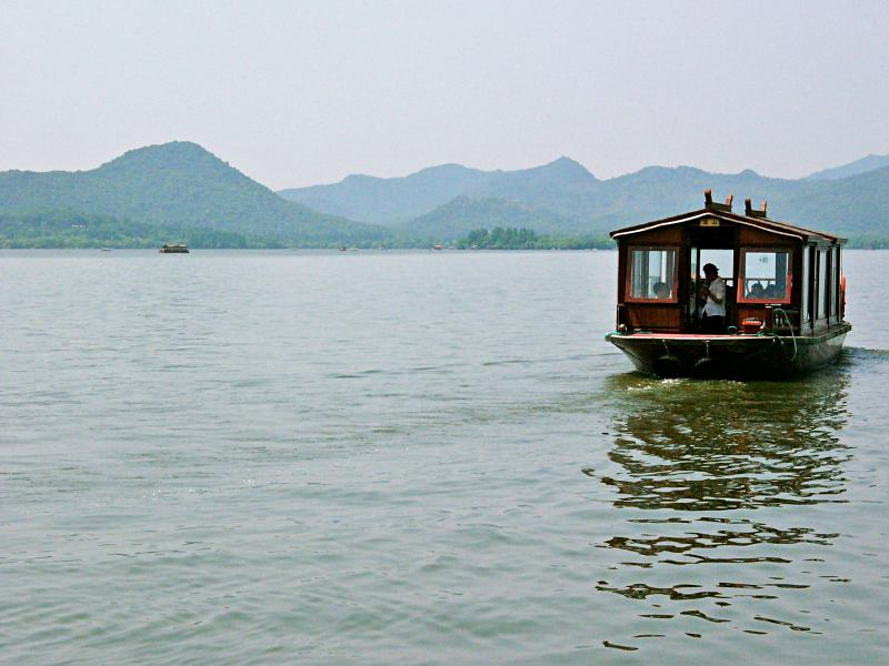 Am See in Hangzhou