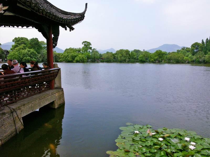 Am Westlake in Hangzhou