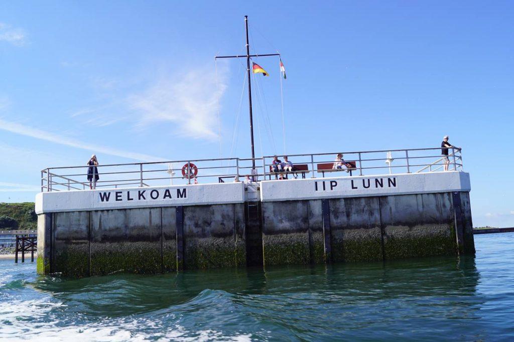 Helgoland Ankunft