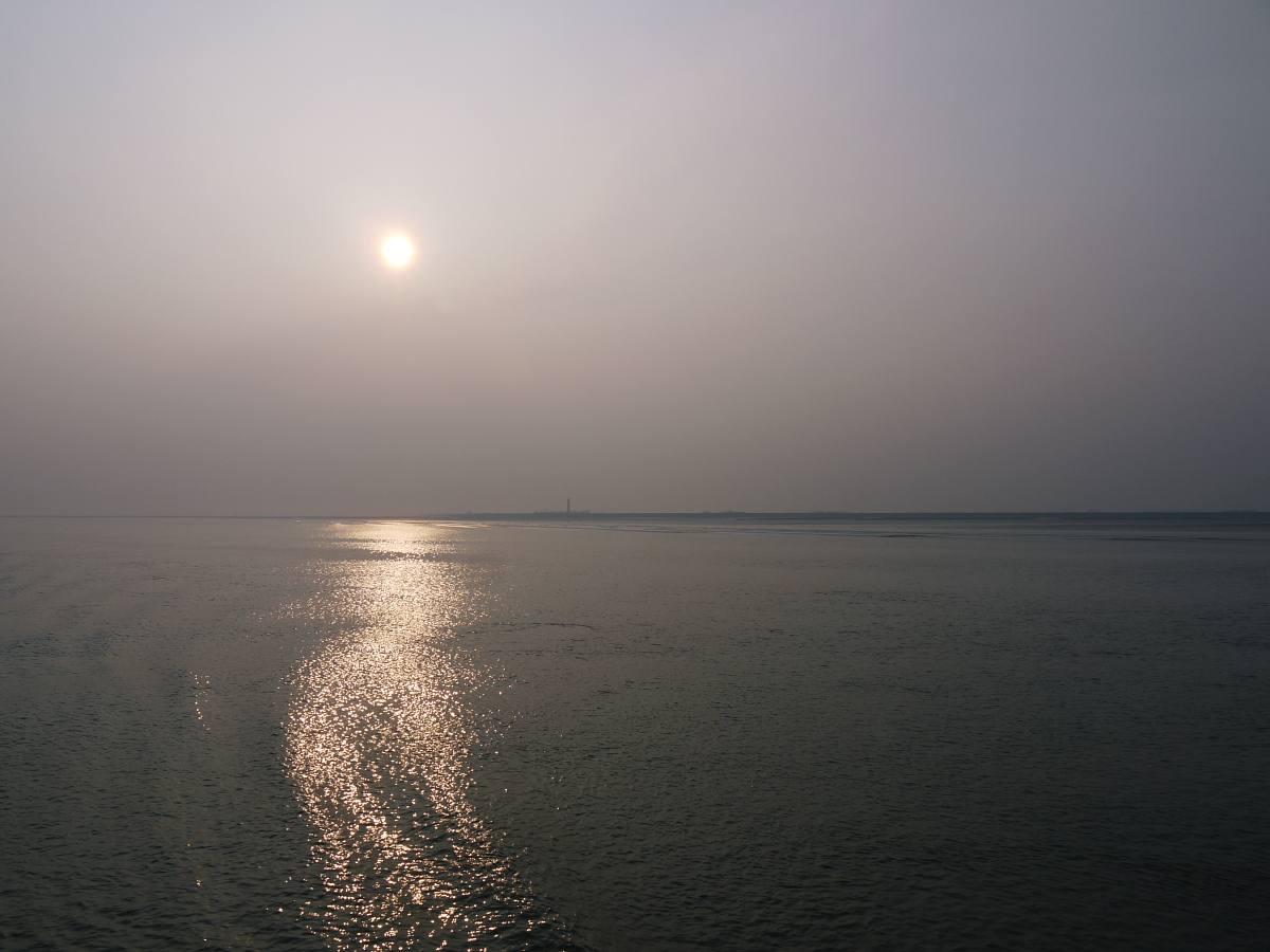 Zurück durchs Wattenmeer