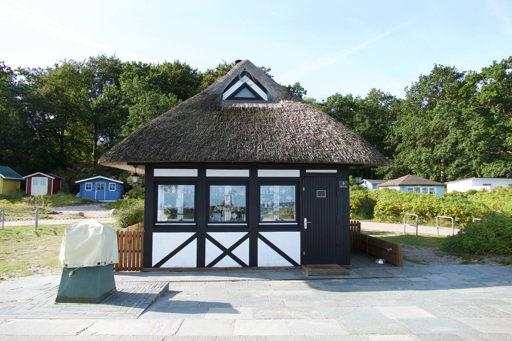 Kiosk in Hohwacht