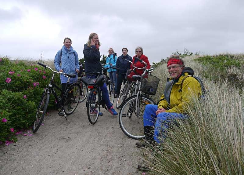 Radfahren auf Holmsland Klit