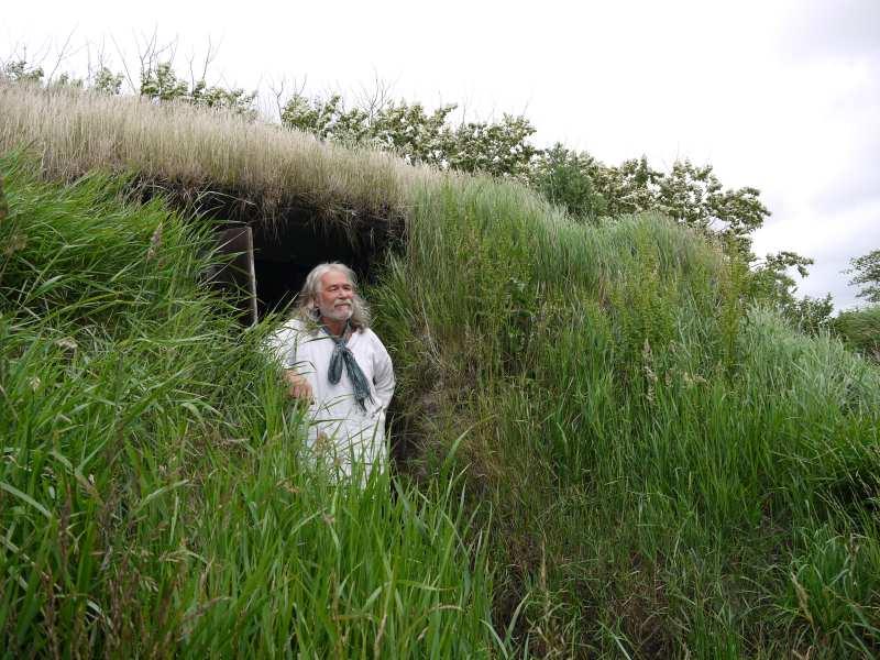 Wikinger auf Holmsland Klit