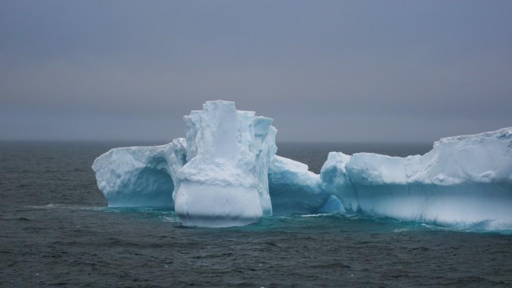 Der erste Eisberg