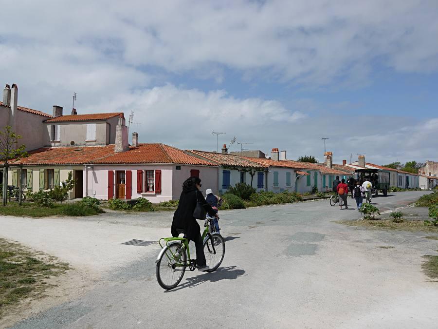 Mit dem Rad über die Ile d'Aix