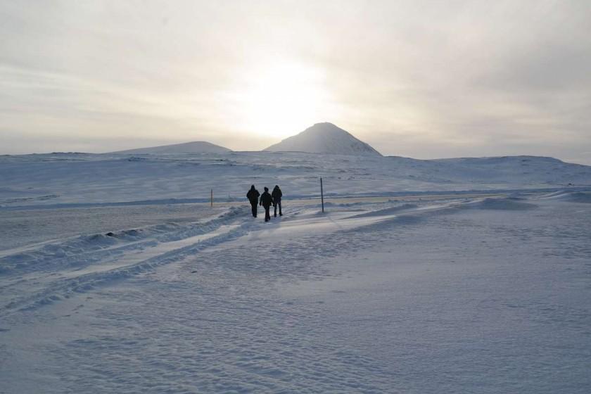 Island im März