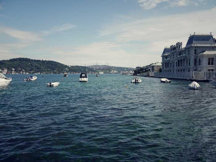 Bosporus in Bebek