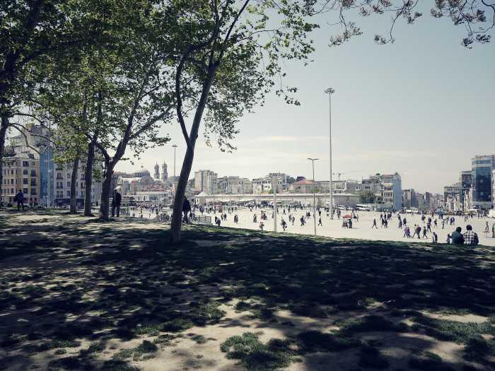 Am Taksim-Platz