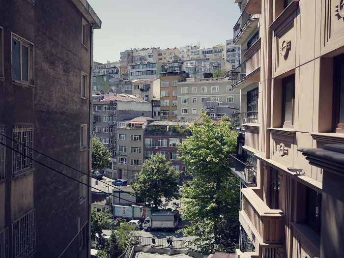 Zu Fuß in Kabataş