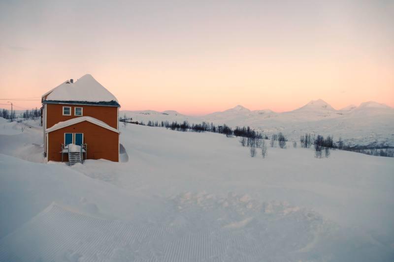 Sonnenuntergang, Jakobsbakken