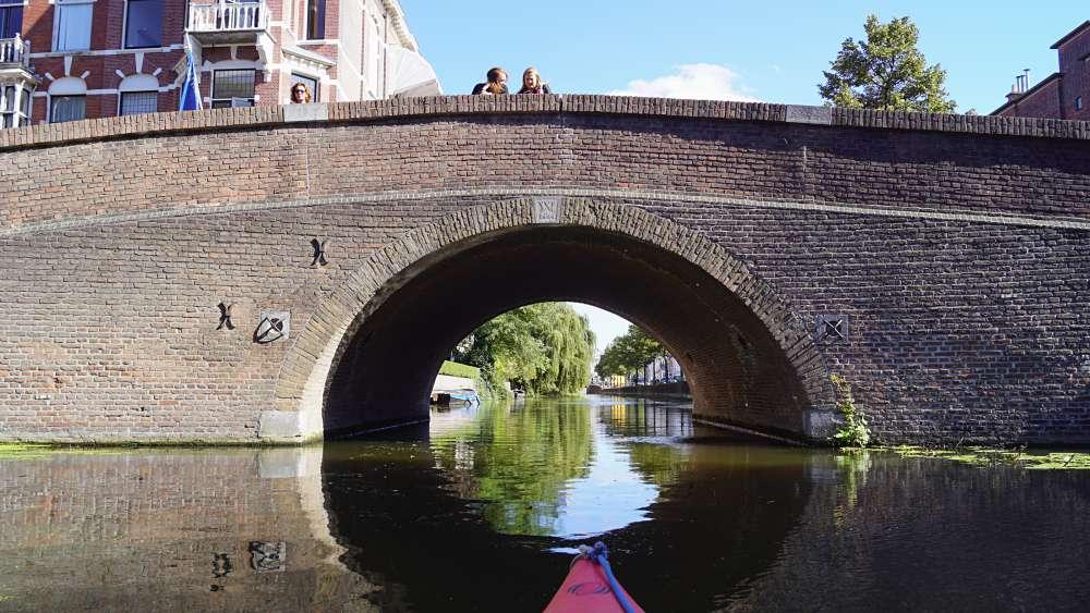 Brücke in Den Haag