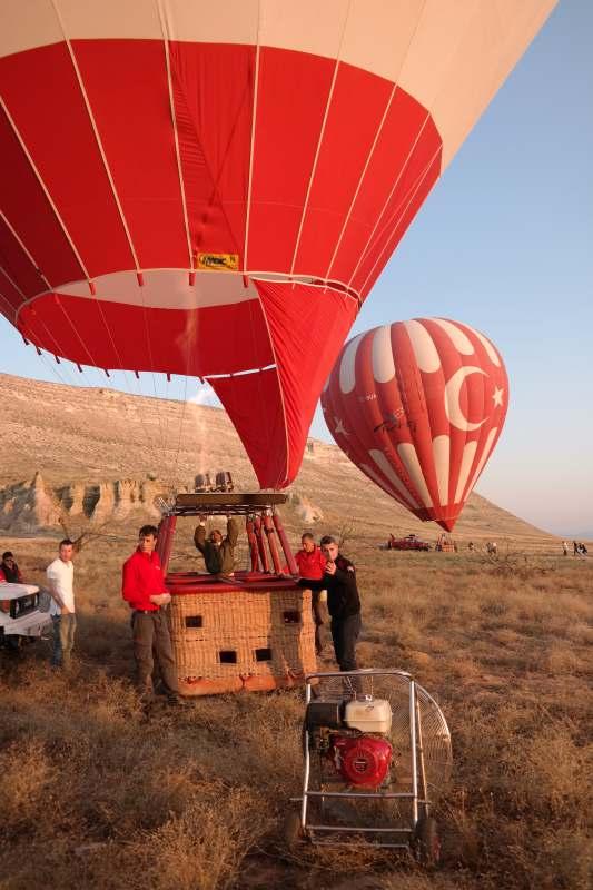 Ballons am Start ©Elke Weiler | Meerblog
