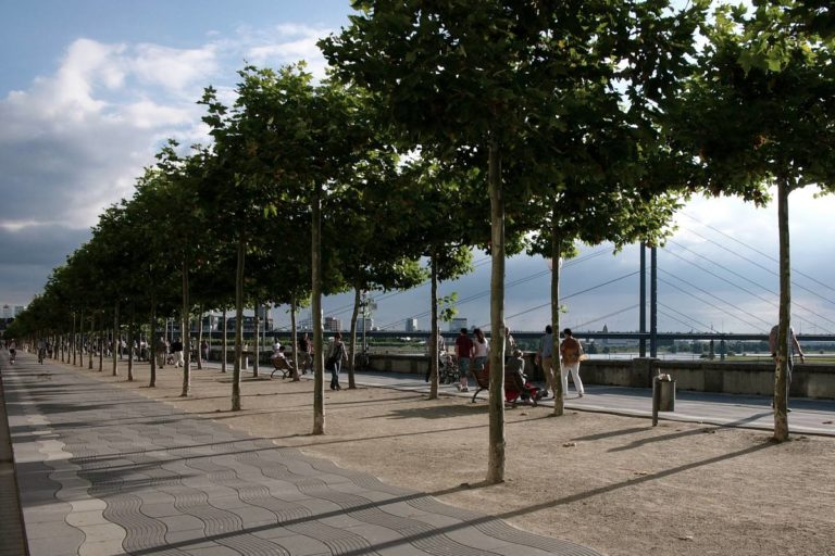 Düsseldorf, Promenade
