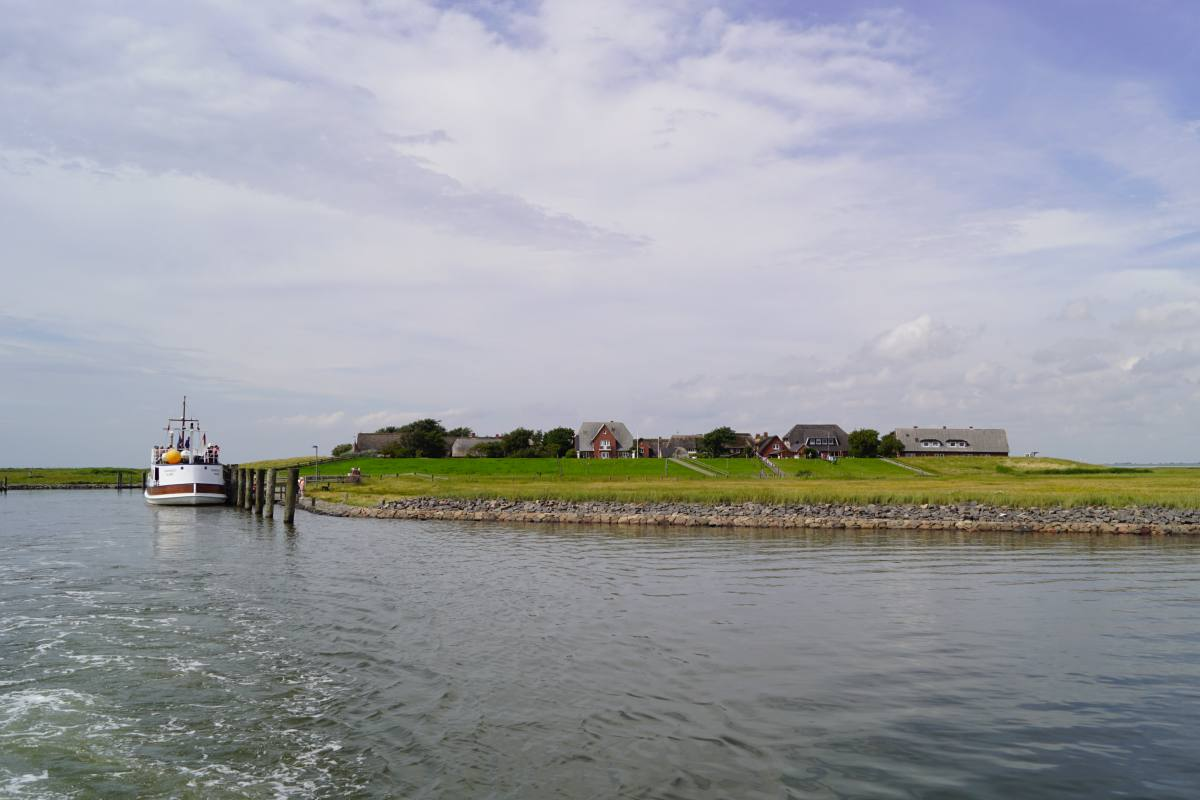 Mit dem Boot nach Gröde und Oland