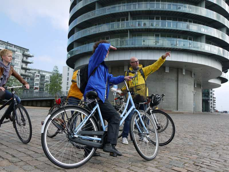 Radfahren in Koenhagen